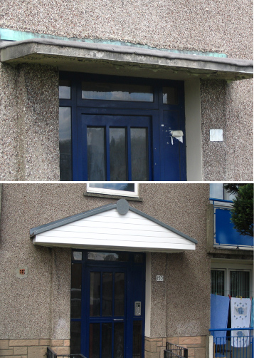 GRP Door Canopies from Capvond Plastics & GRP Enclosures GRP Glassfibre GRP Chimneys GRP Housings ...